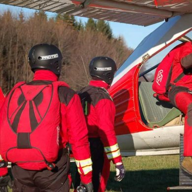 Wigilijne wietrzenie ratowników